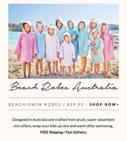 One Fine Baby Beach Robes Australia Beach Robe Swim Robe