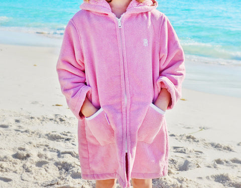 Beach Robe - Raspberry