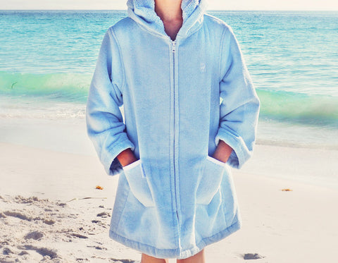 Beach Robe - Light Blue