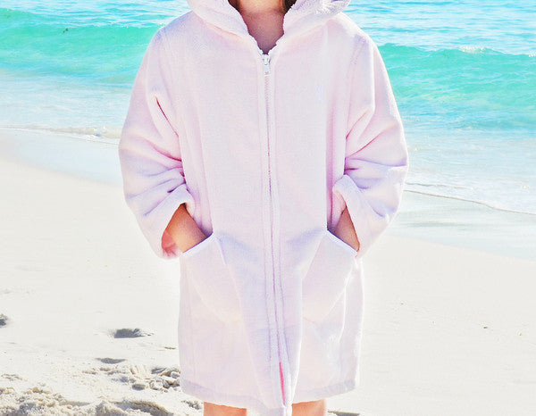 Light Pink Beach Robe