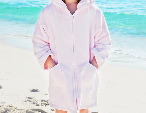 Beach Robe - Light Pink