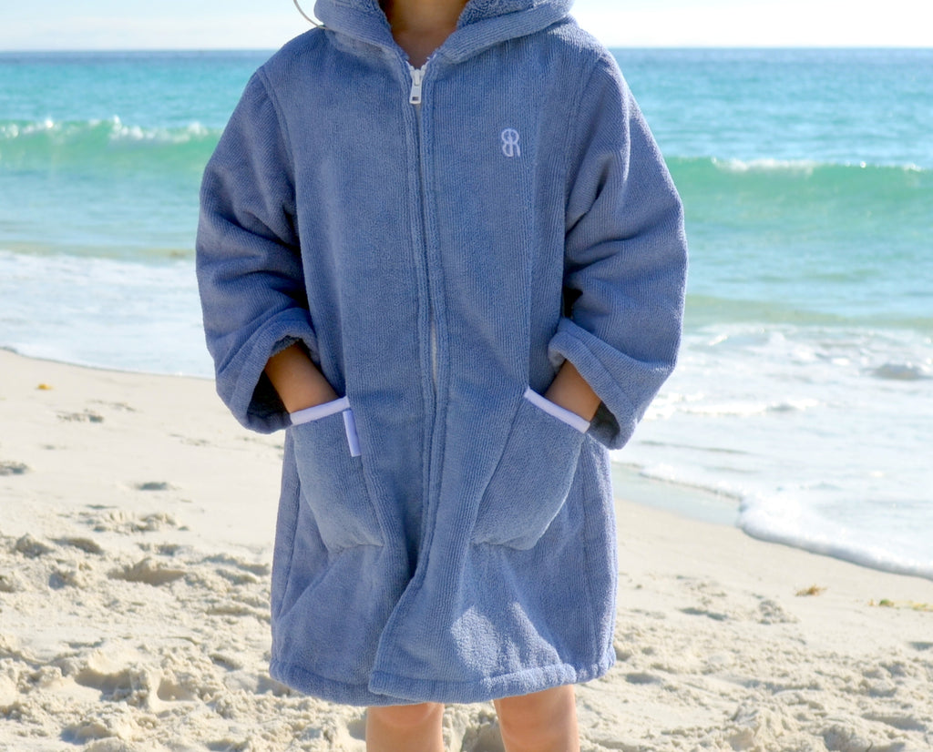 Beach Robe - Navy