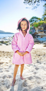 Raspberry Beach Robe