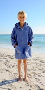 Navy Beach Robe
