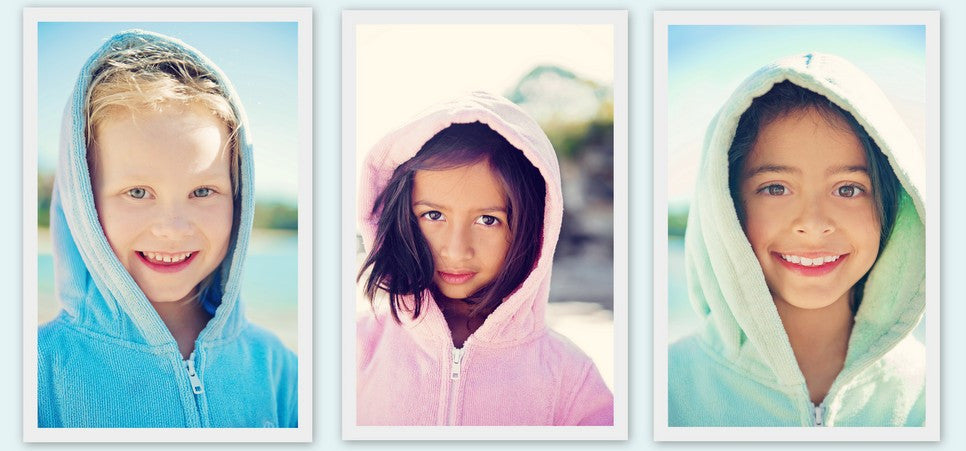 Light Blue, Raspberry, Sage Beach Robes