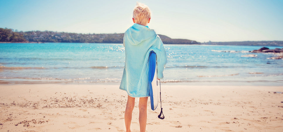 Light Blue Beach Robe