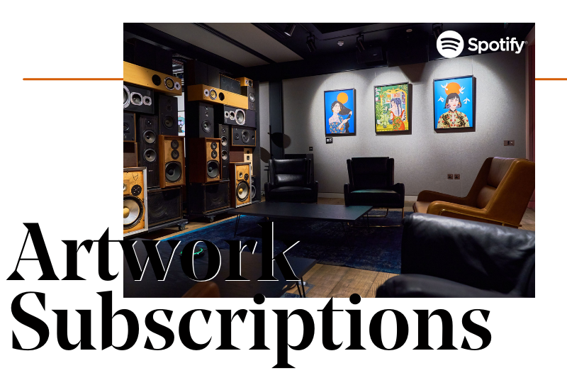 Artwork Subscriptions Business Services at Creative Debuts