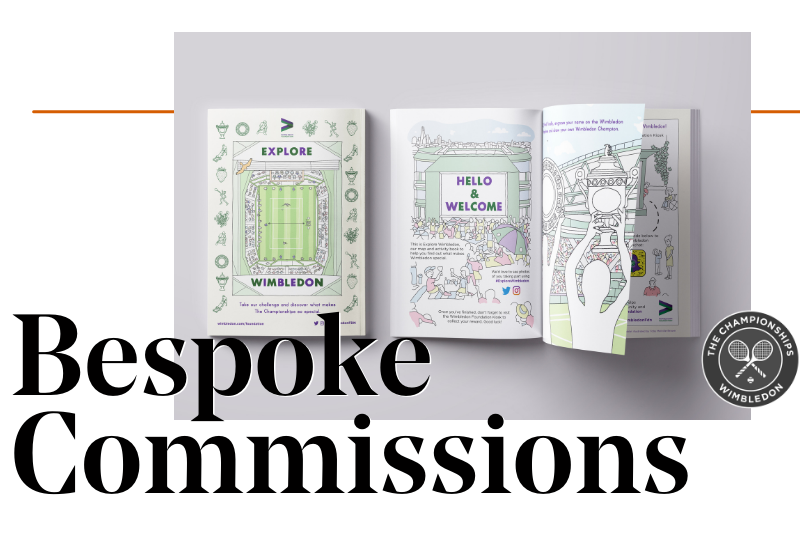 Bespoke Commissions Business Services at Creative Debuts
