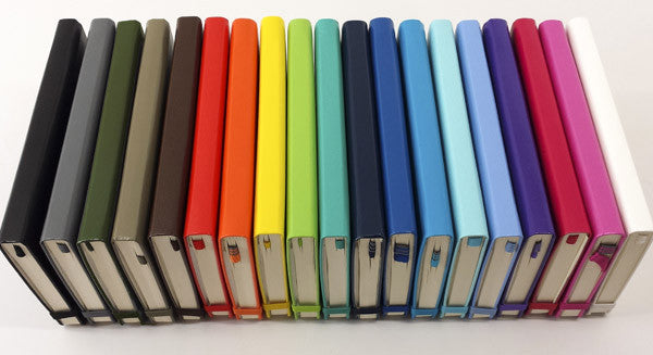 Leuchtturm Notebooks in a rainbow of colors