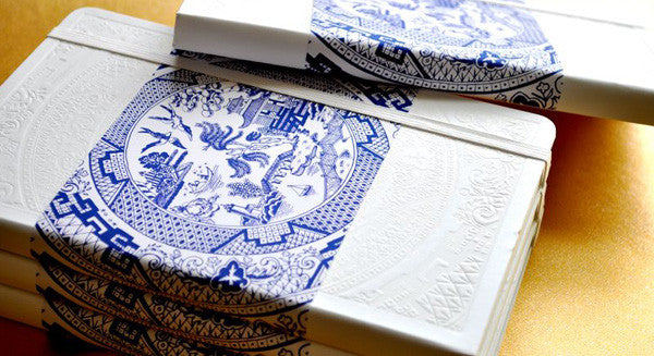 Porcelain Moleskine Notebooks Make a Lavish Wedding Favor