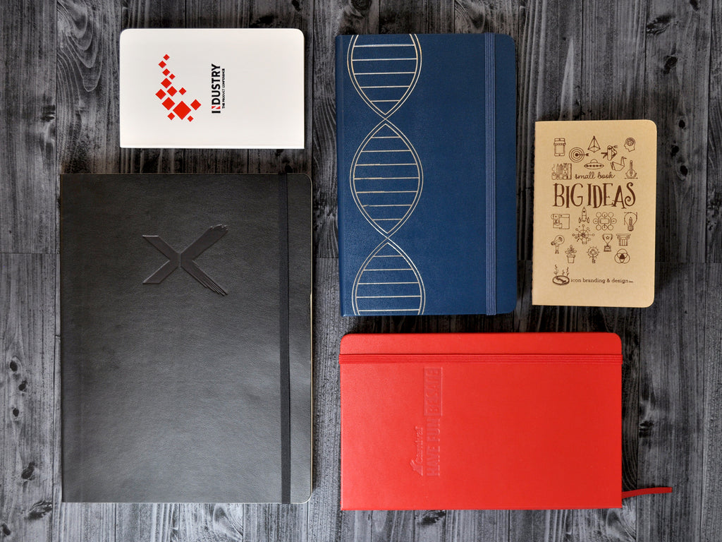 Customized Moleskine Notebooks