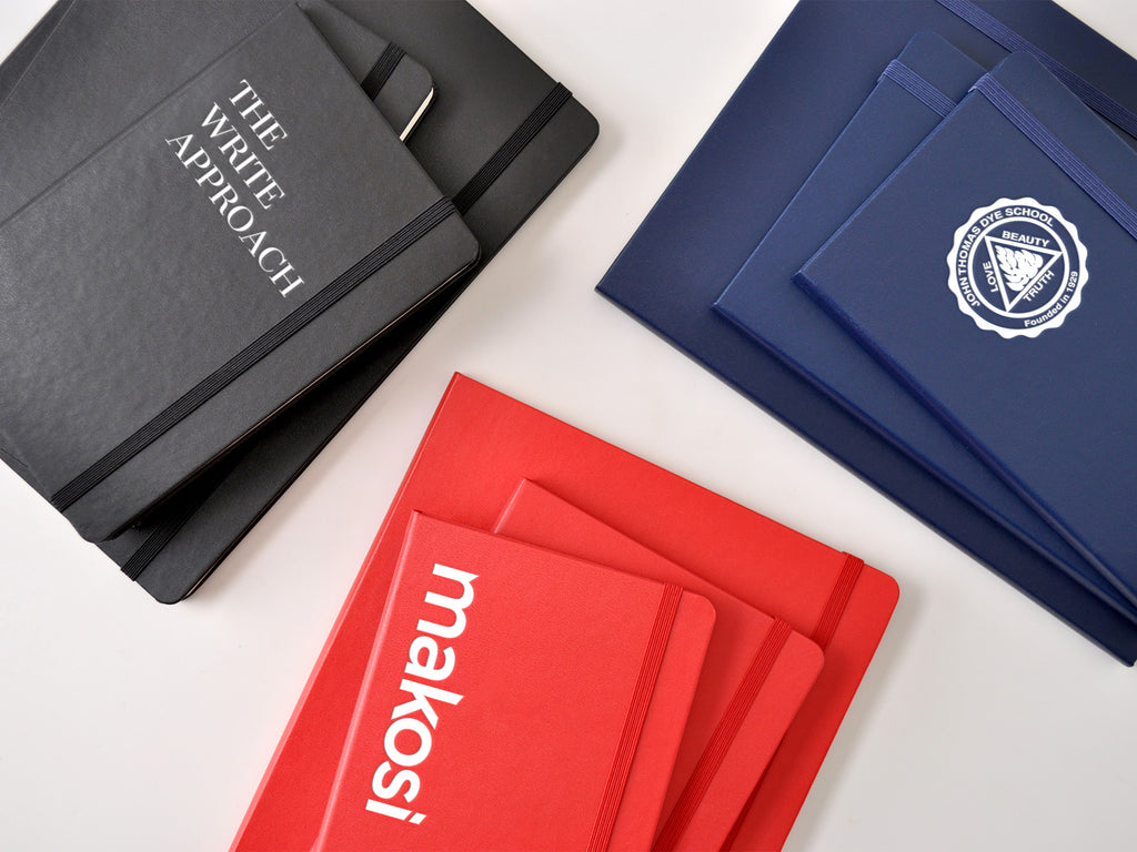 2020 Moleskine Planners with custom embossed logo imprint
