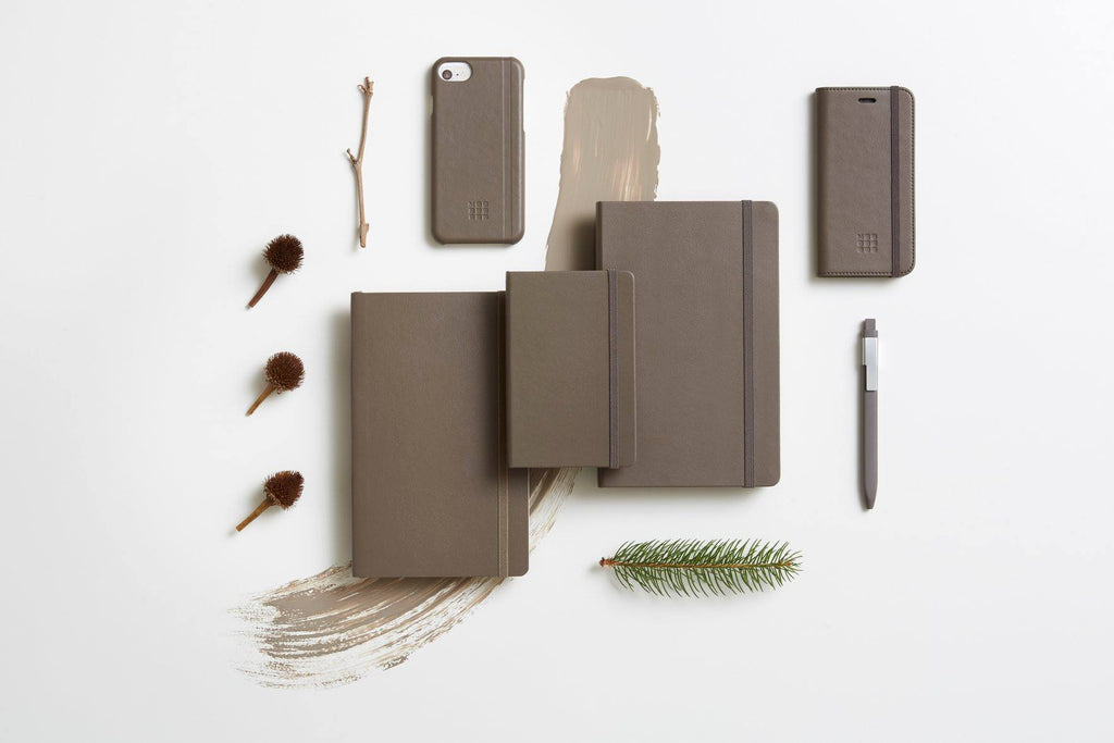 Moleskine Notebook Earth Brown