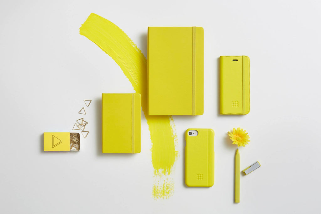 Moleskine Notebook Dandelion Yellow