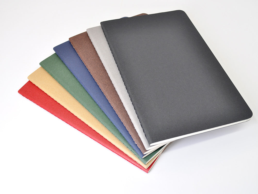 Moleskine Cahier available in 7 colors