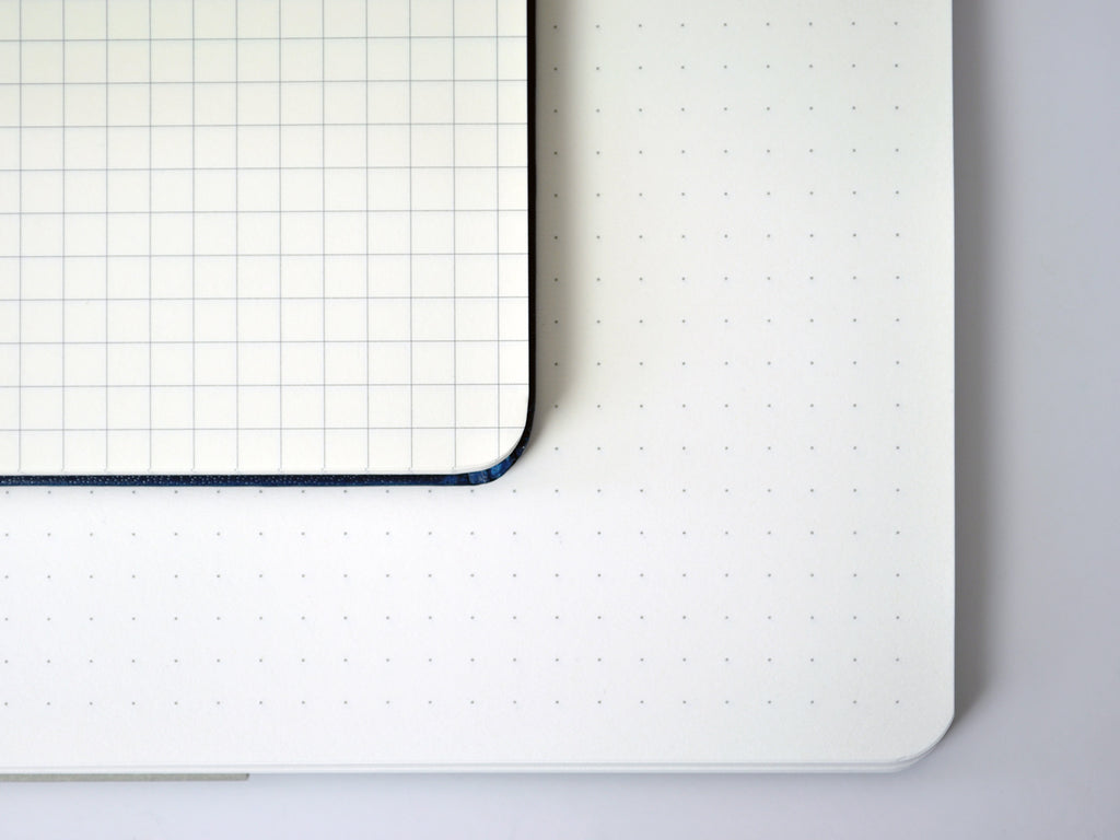 Dotted pages vs squared pages