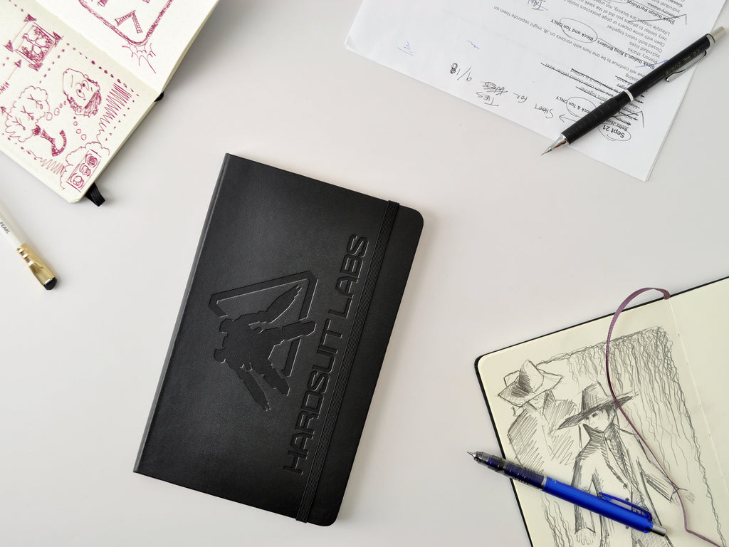 Custom logo embossed Moleskine Hardcover notebook