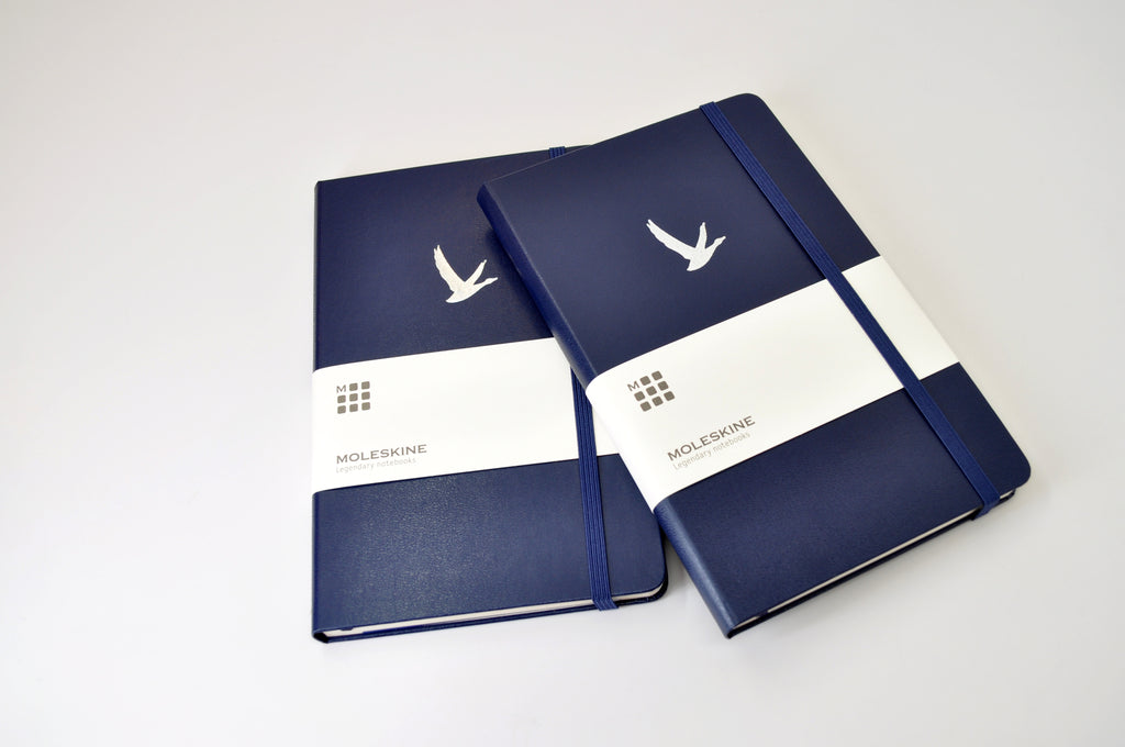Prussian Blue Custom Moleskine