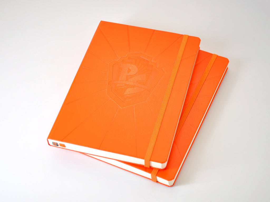 Leuchtturm 1917 orange hardcover
