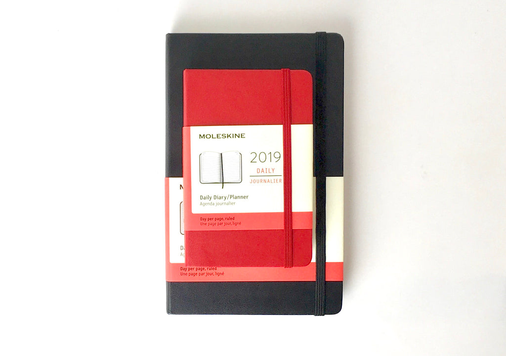 Moleskine Planner - Pocket and Large