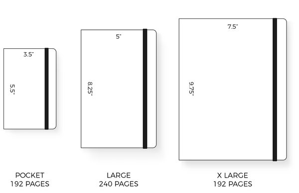 Moleskine Softcover Sizes