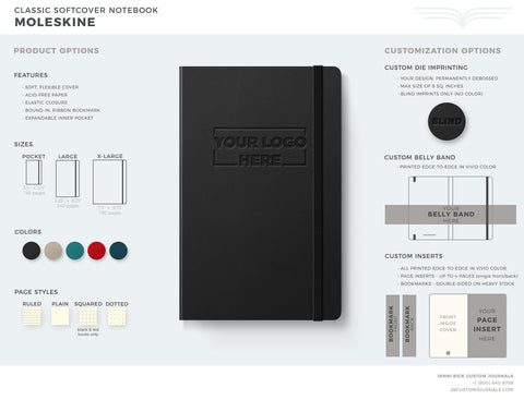 Moleskine Soft Cover Brochure