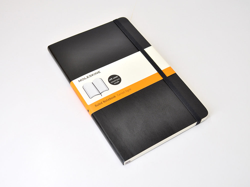 Moleskine Softcover Notebook in Black