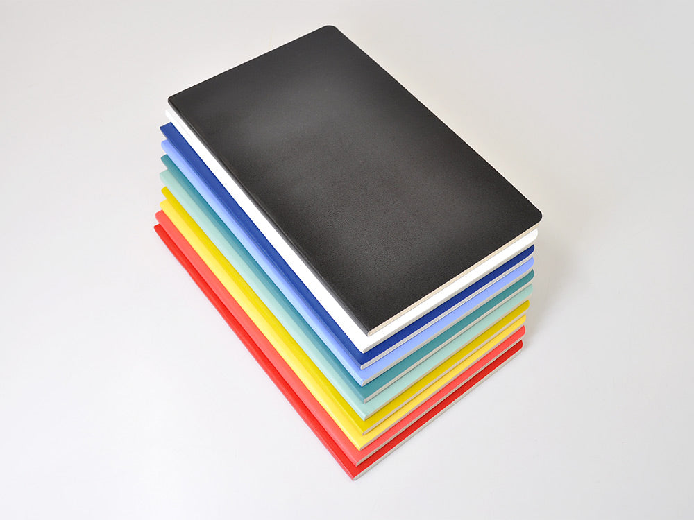 Moleskine Volant notebooks in several vivid colors