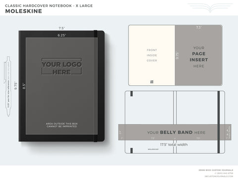 Moleskine X Large Template