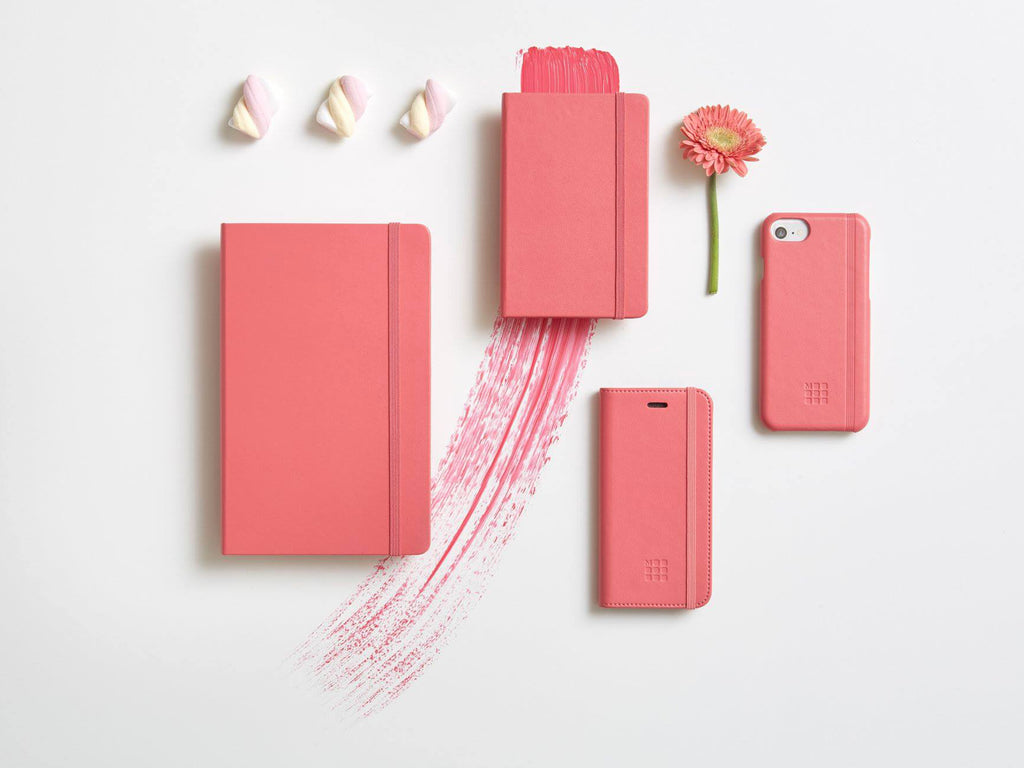 Moleskine Classic Hardcover Notebook - Daisy Pink-Notebooks-JB Custom Journals