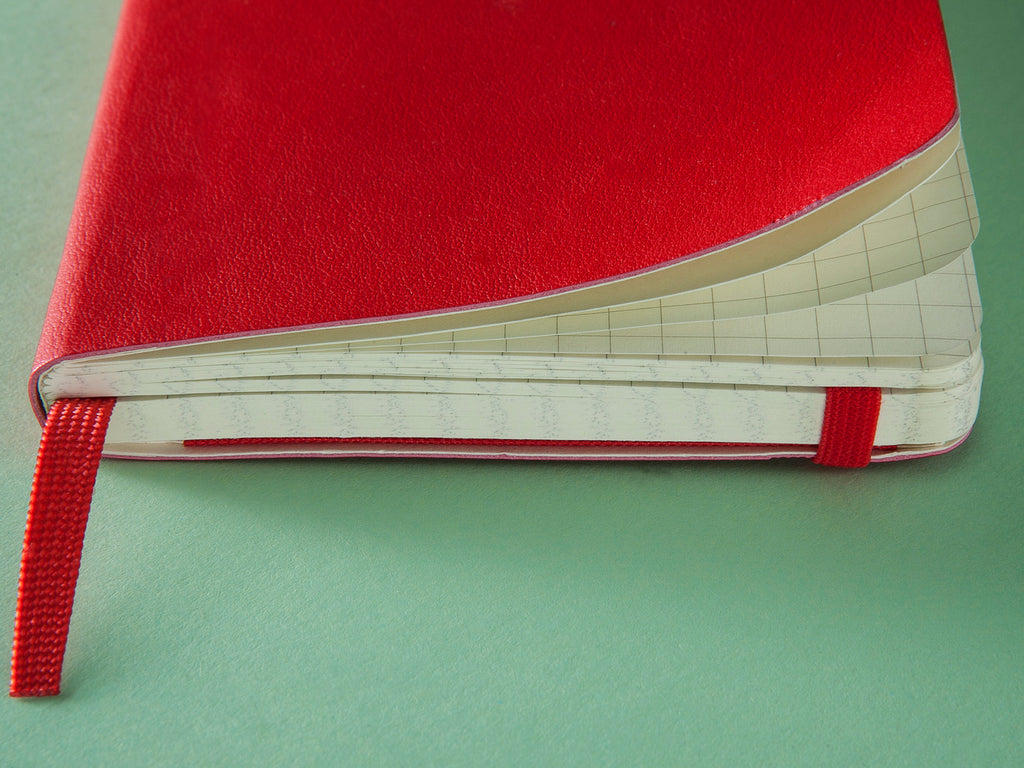 Moleskine Softcover Notebook - Red-Notebooks-JB Custom Journals