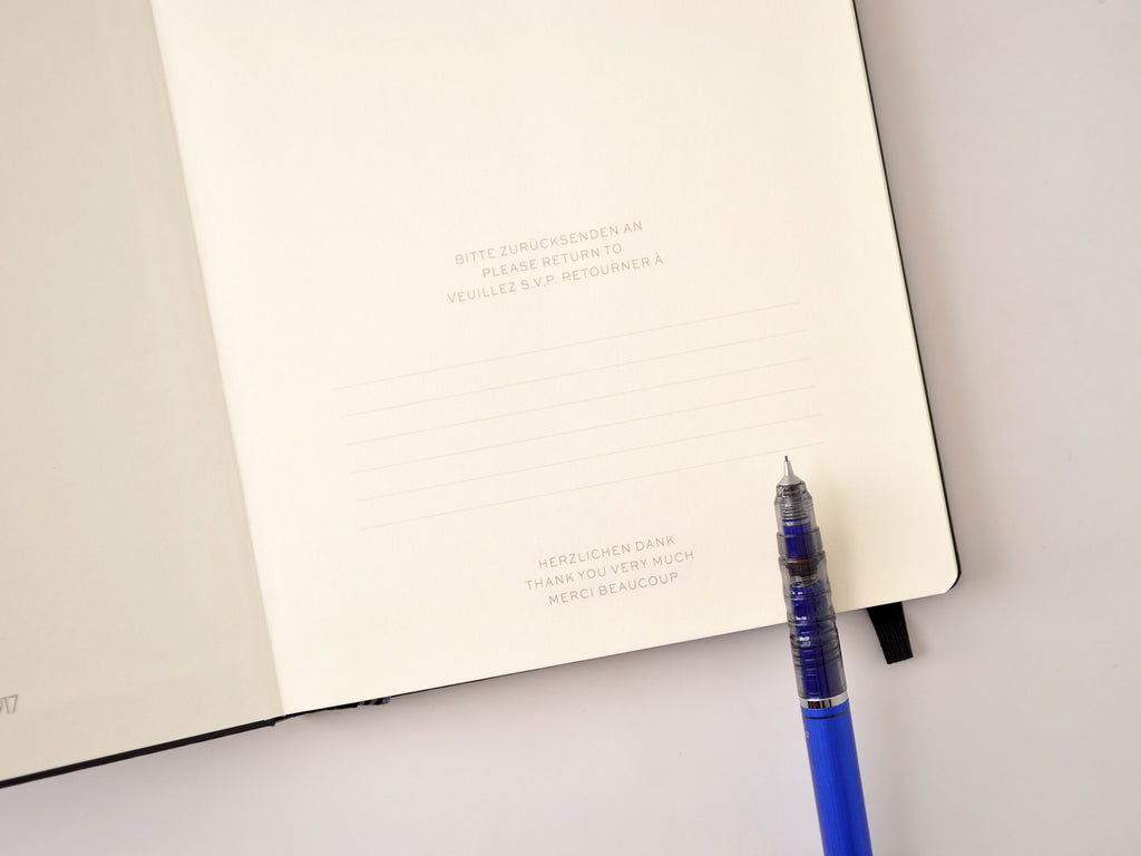 Leuchtturm 1917 Hardcover Notebook - Azure