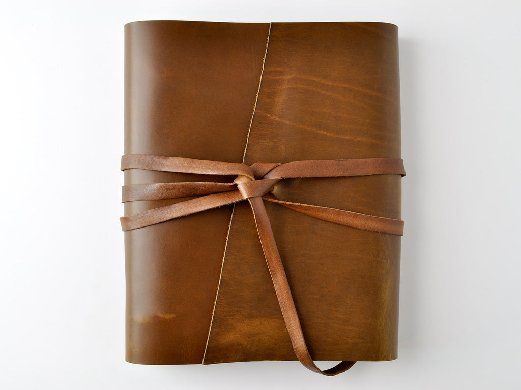 Woodsman Soft Leather 3-Ring Binder