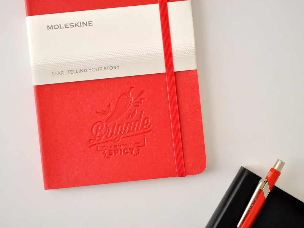 Moleskine Softcover Notebook - Scarlet Red