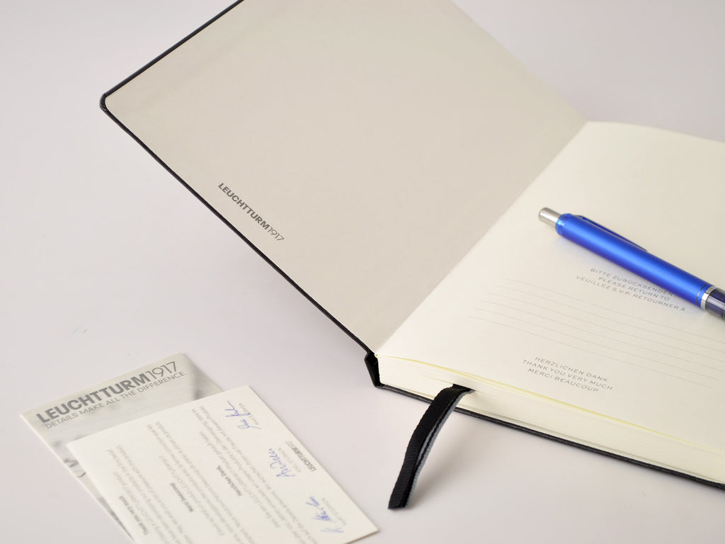 Leuchtturm 1917 Hardcover Notebook - Navy Blue