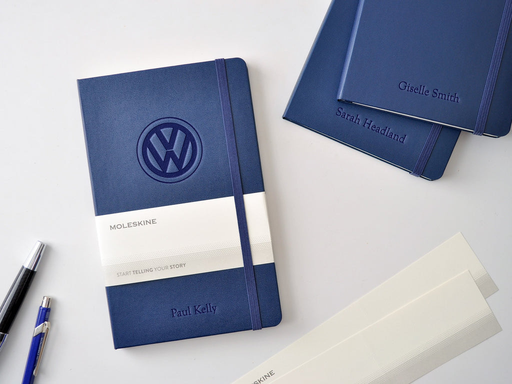 Moleskine Classic Hardcover Notebook - Sapphire Blue