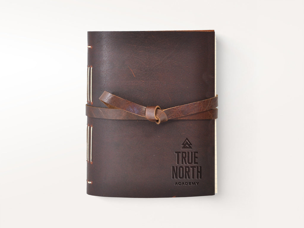Dusty Road Handmade Leather Journal-Notebooks-JB Custom Journals