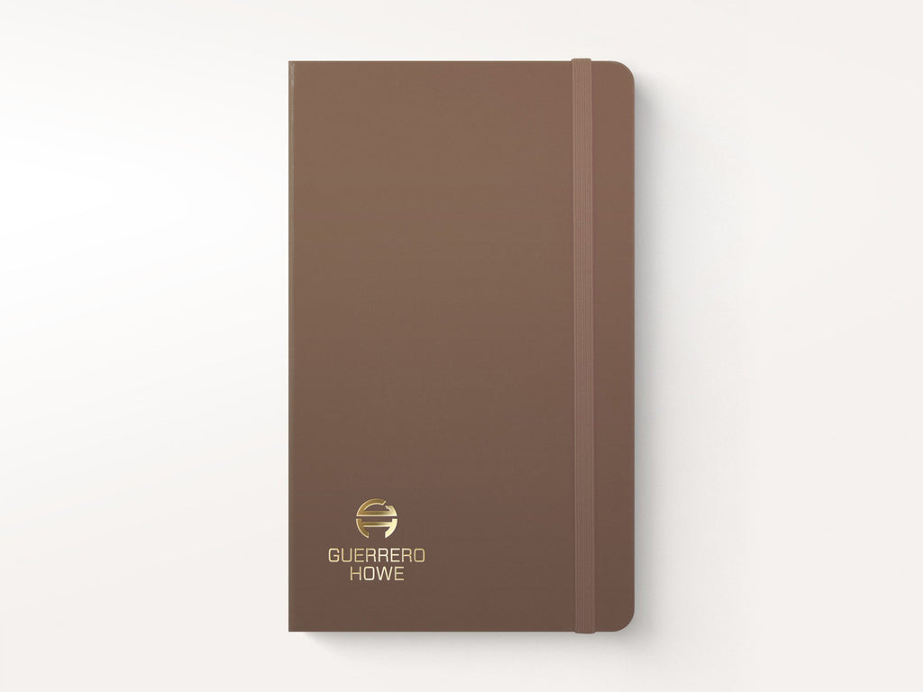 Moleskine Classic Hardcover Notebook - Earth Brown-Notebooks-JB Custom Journals