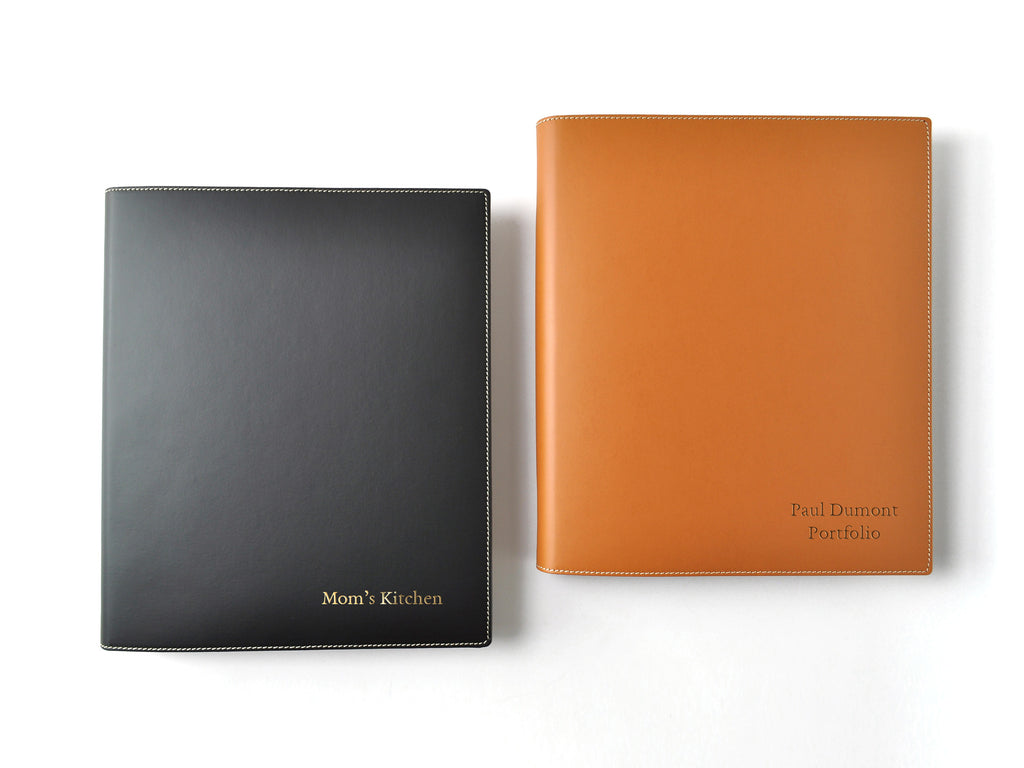 Italian Leather 3-Ring Binder
