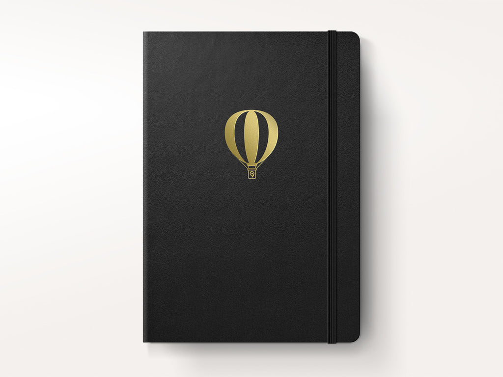 Leuchtturm 1917 Hardcover Notebook - Black