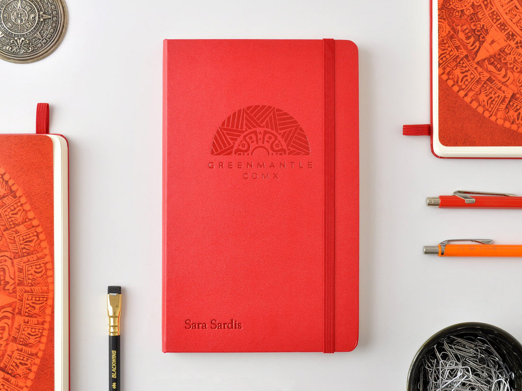 Moleskine Classic Hardcover Notebook - Scarlet Red