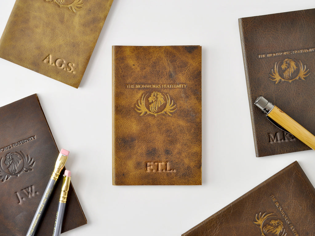 Essential Leather Pocket Notebook