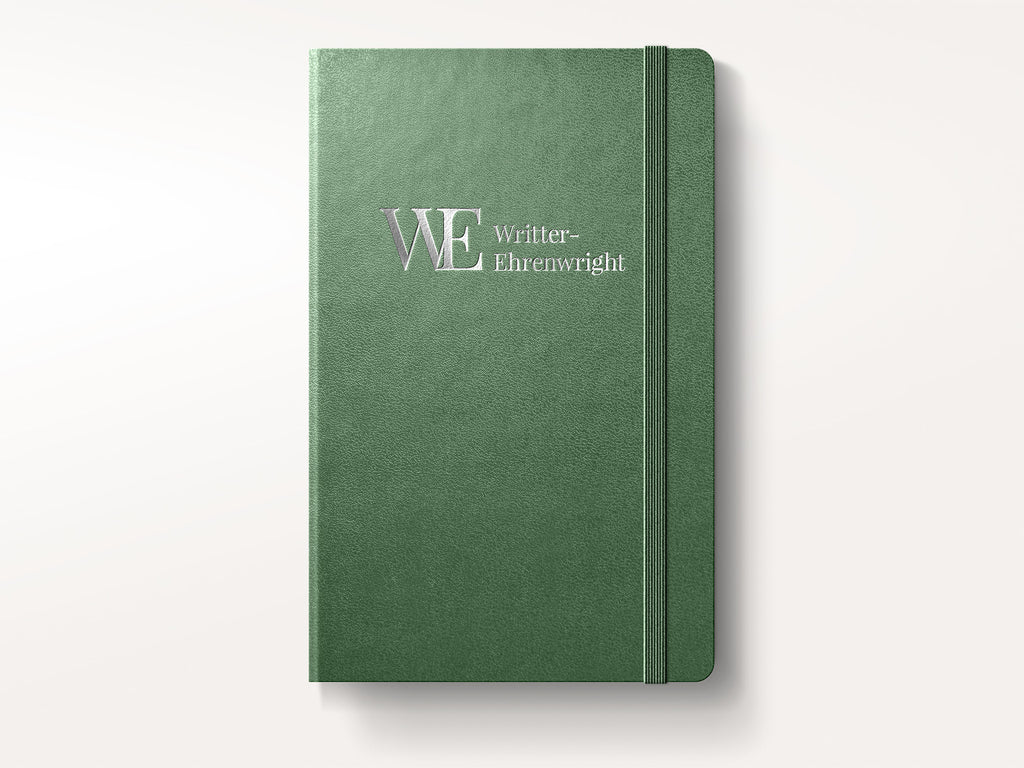 Moleskine PRO Hardcover Notebook - Forest Green