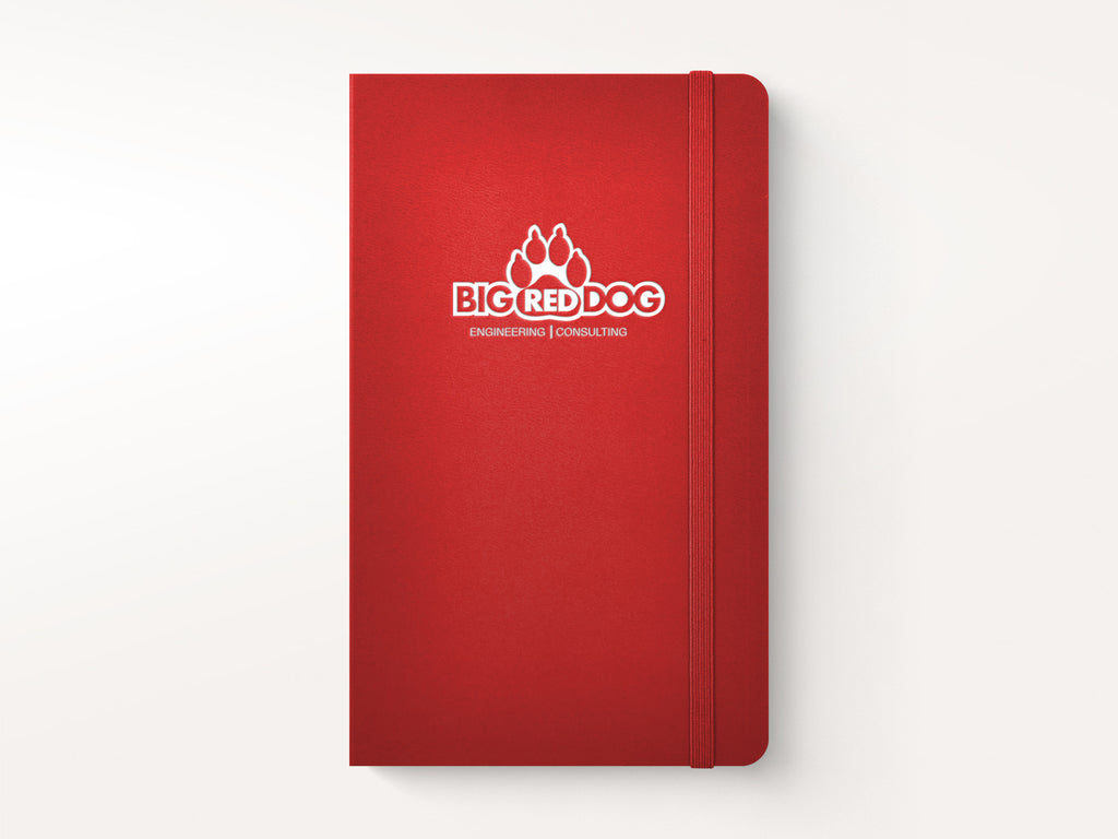 Moleskine Classic Hardcover Notebook - Red-Notebooks-JB Custom Journals