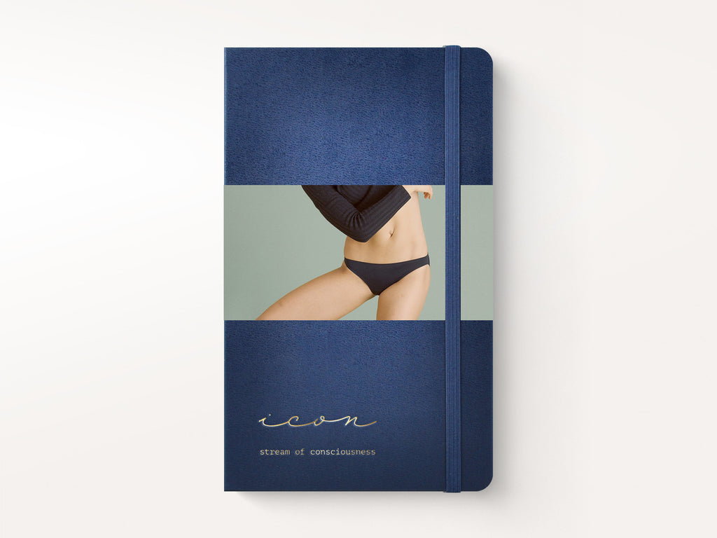 Moleskine Classic Hardcover Notebook - Sapphire Blue-Notebooks-JB Custom Journals