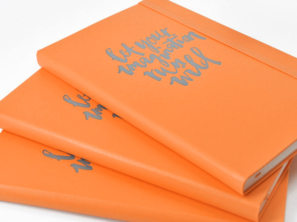 Moleskine Classic Hardcover Notebook - True Orange-Notebooks-JB Custom Journals