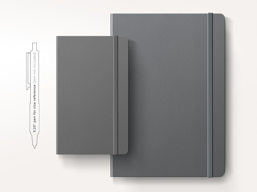 Leuchtturm 1917 Hardcover Notebook - Anthracite-Notebooks-JB Custom Journals