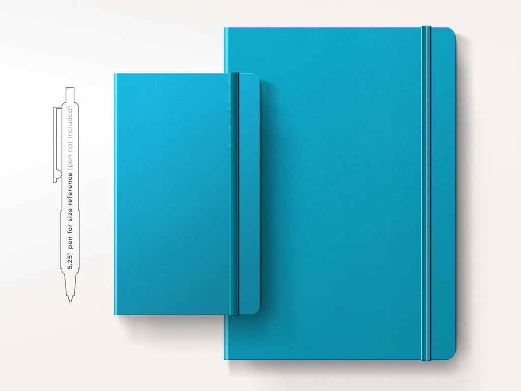 Leuchtturm 1917 Hardcover Notebook - Azure-Notebooks-JB Custom Journals