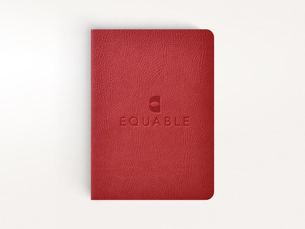 Ciak Mate Slim Softcover Notebook - Red