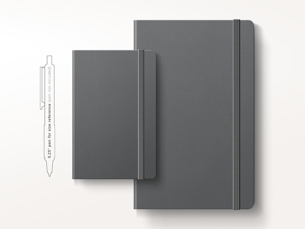 Moleskine Classic Hardcover Notebook - Slate Grey-Notebooks-JB Custom Journals